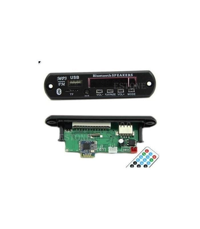 برد فلش خور بلوتوث دار USB AUX ضبط | ماژول USB فلش خور بلوتوثی خودرو و ضبط خانگی