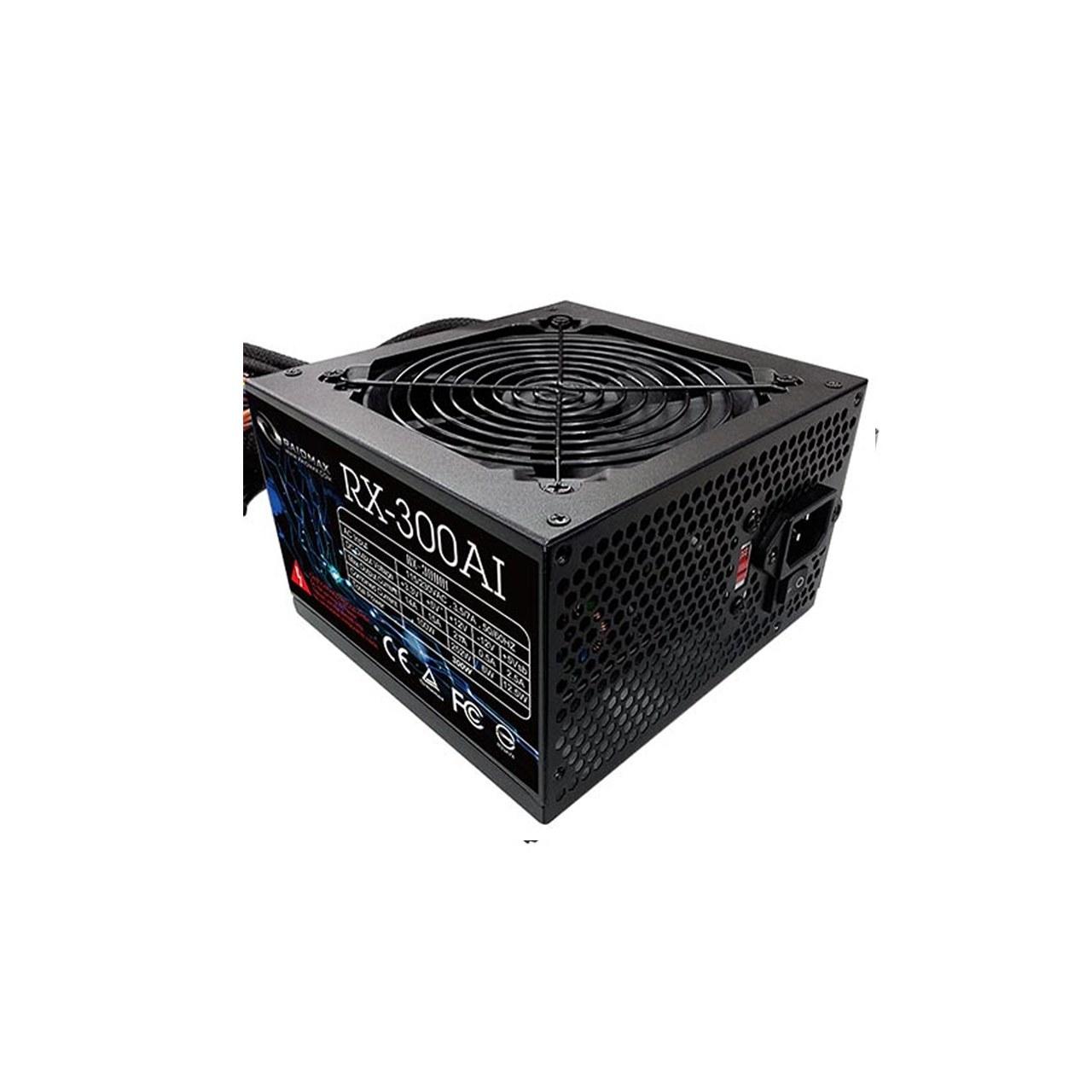 تصویر منبع تغذیه کامپیوتر ریدمکس مدل RAIDMAX POWER RX-300AI