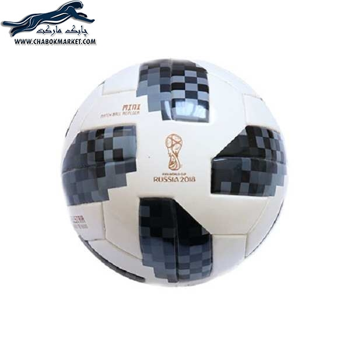 تصویر توپ فوتبال تلستار مدل جام جهانی 2018 روسیه