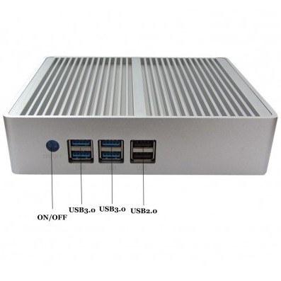 تصویر مینی باکس صنعتی کاربردی CORE I7- 4600U ساپورت مستقیم هاردلپتاپی هارد ssd مدل kc5015