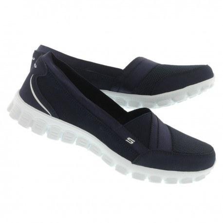 کفش پیاده روی زنانه اسکیچرز مدل Ez Flex 2 Quipster