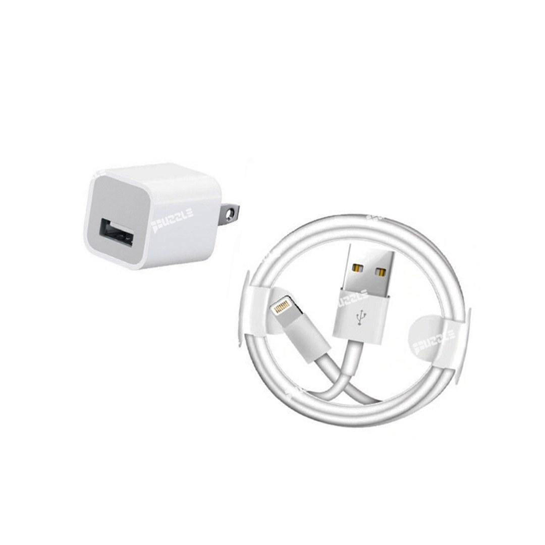 شارژر اصلی اپل آیفون Apple A1385 Charger + کابل لایتنینگ