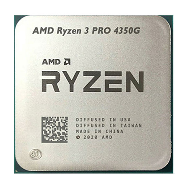 تصویر پردازنده مرکزی ای ام دی مدل Ryzen 3 PRO 4350G Tray (بدون فن-باندل)