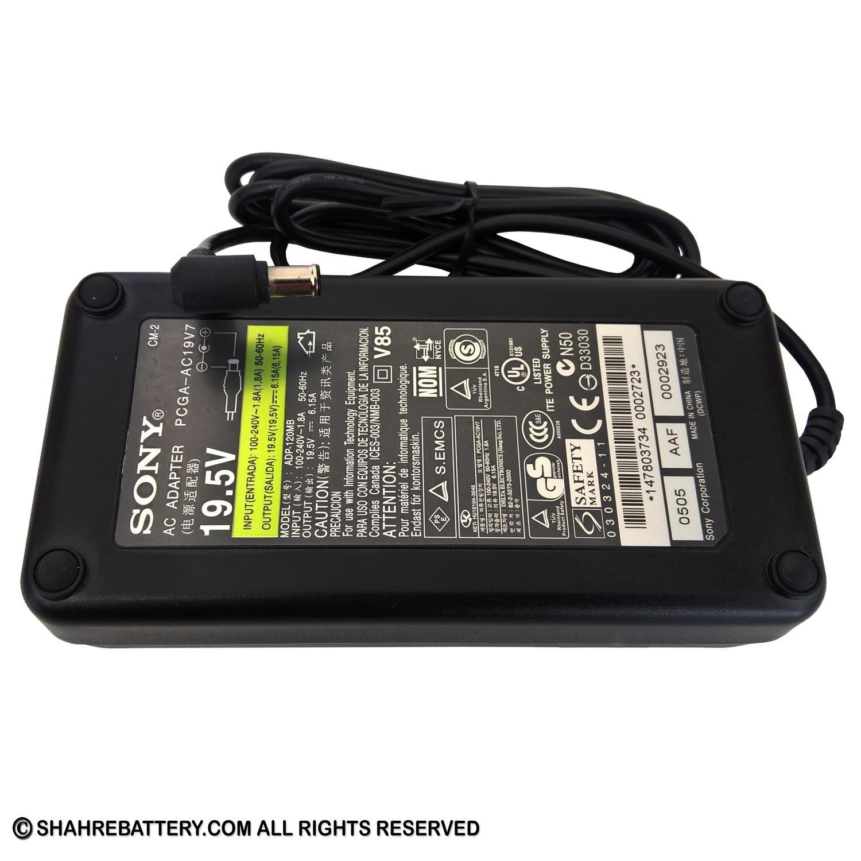 تصویر شارژر اورجینال لپ تاپ سونی Sony 19.5V 6.15A