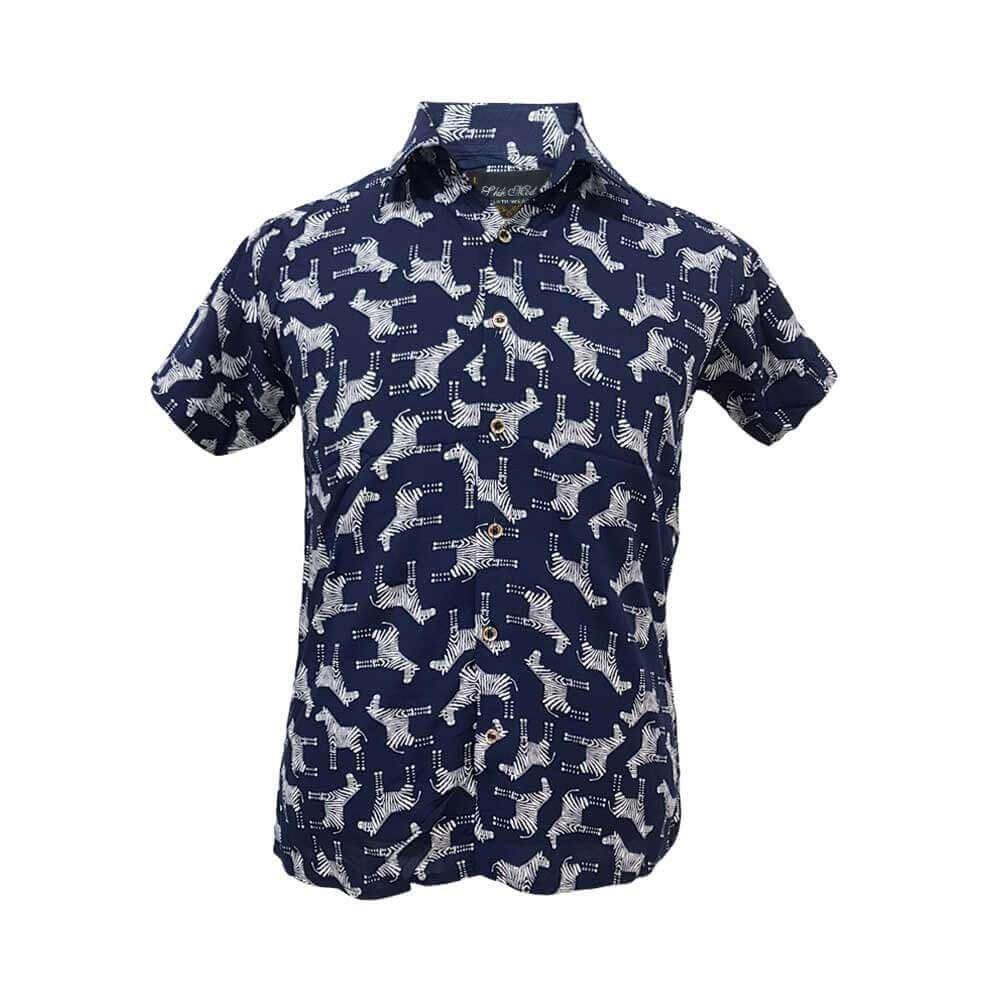 تصویر پیراهن هاوایی 124095-3