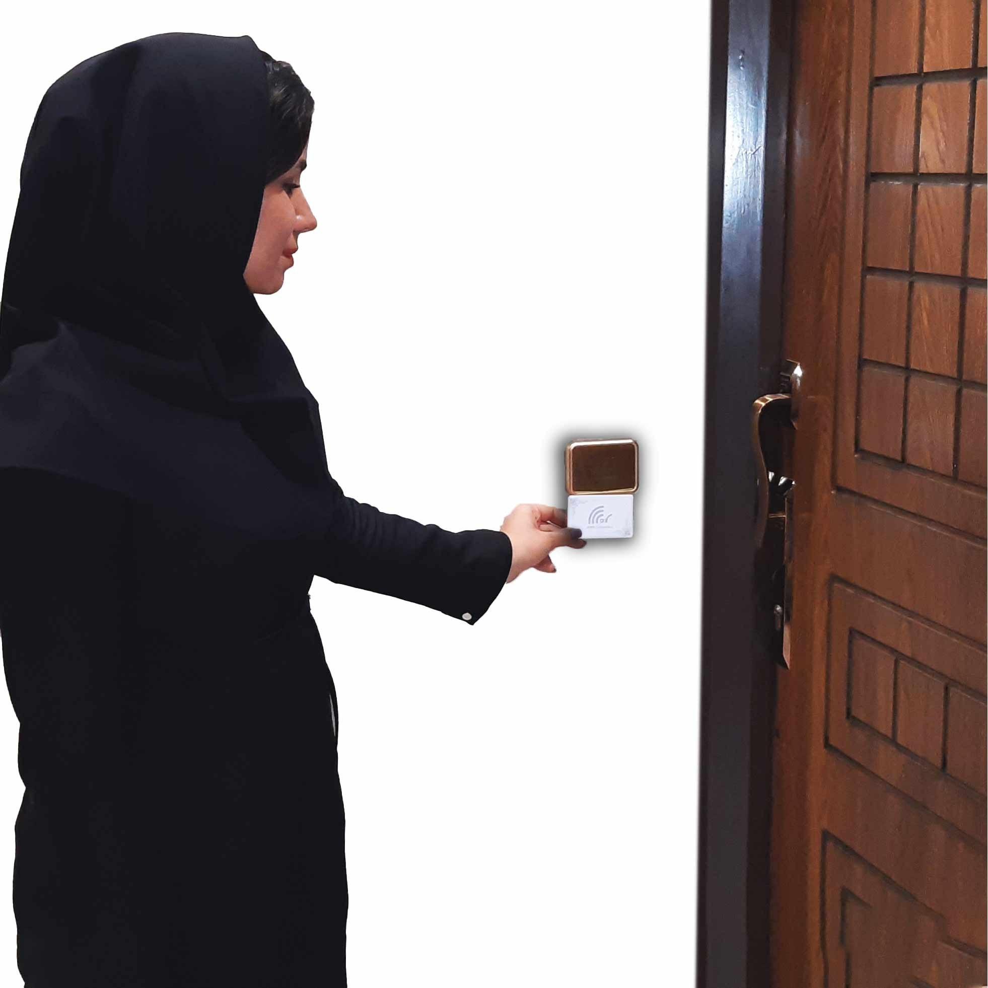 تصویر درب باز کن کارتی(مخصوص درب واحد)