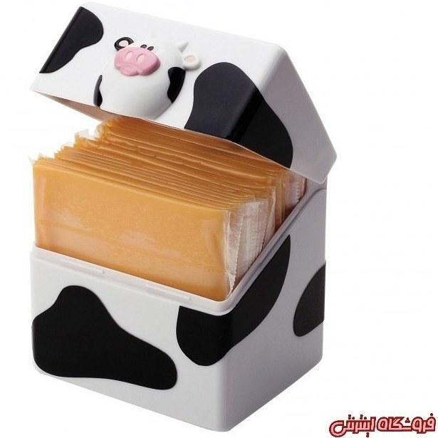 تصویر ظرف پنیر ورقه ای طرح گاو joie کدکالا 1890