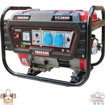 تصویر موتوربرق بنزینی وکسون مدل VC3800 portable generator vacksonVC3800