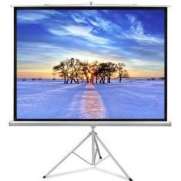 تصویر پرده نمایش یا پرده پروژکتور – پایه دار – 250× 250 سانتیمتر | معادل 110 اینچ – اسکوپ scope