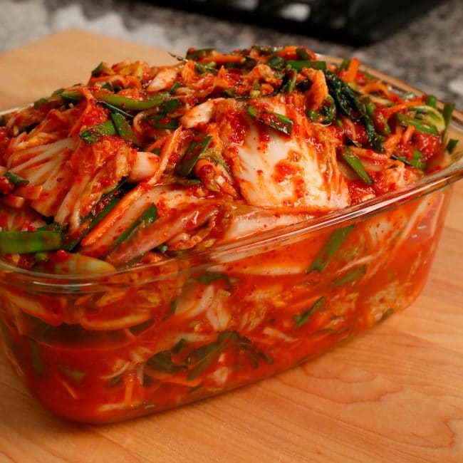کیمچی (ترشی کُره ای) Kimchi