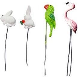 تاپر گلدان طرح حیوانات کد TO103 مجموعه ۴ عددی  