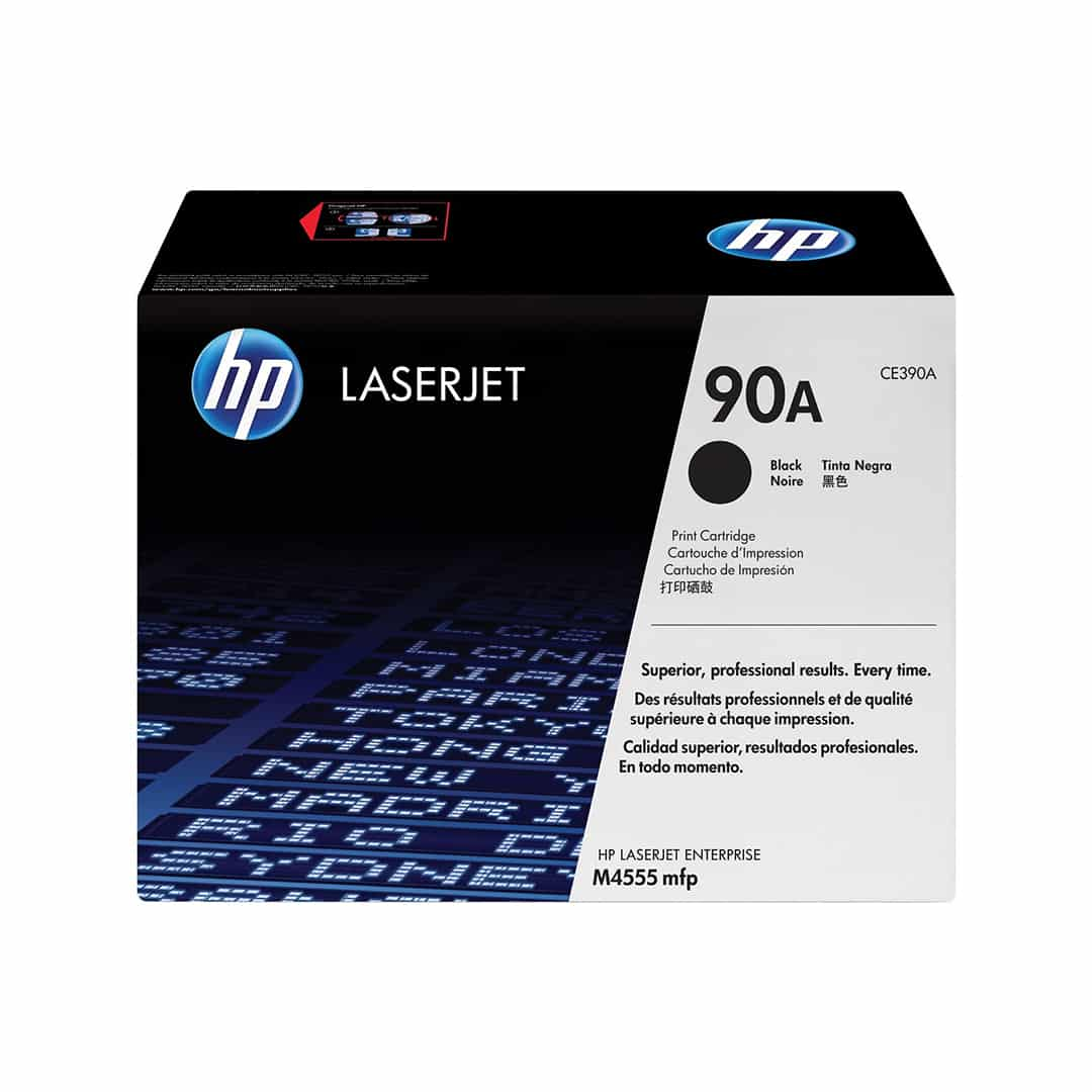 main images تونر اچ پی مدل ۹۰ ای HP 90A Black LaserJet Toner Cartridge