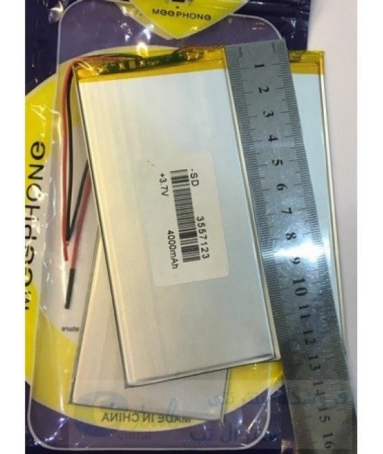 تصویر باتری (کیفیت بالا) تبلت های چینی و برند های متفرقه (4000 میلی امپر) -  13 * 7 سانتی متر