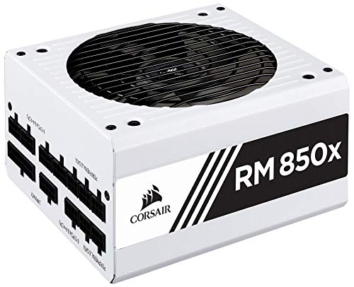 تصویر سری سفید CORSAIR RMX (2018) ، RM850x ، 850 وات ، ...