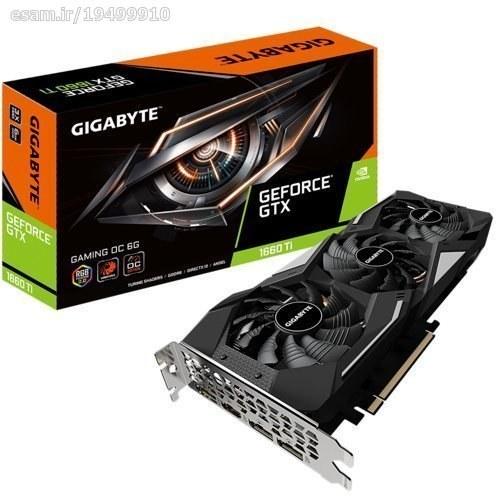 تصویر کارت گرافیک گیگابایت GTX 1660 Ti GAMING OC 6G GIGABYTE GTX 1660 Ti GAMING OC 6G Graphics Card