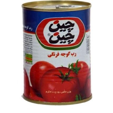 رب گوجه فرنگی آسان باز شو چین چین مقدار ۴۰۰ گرم |