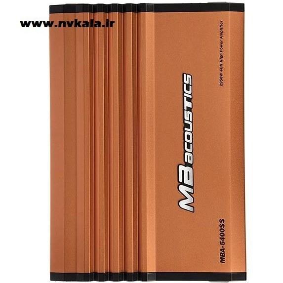 تصویر آمپلی فایر خودرو ام بی آکوستیکس مدل MBA-5400SS MB Acoustics MBA-5400SS Car Amplifier