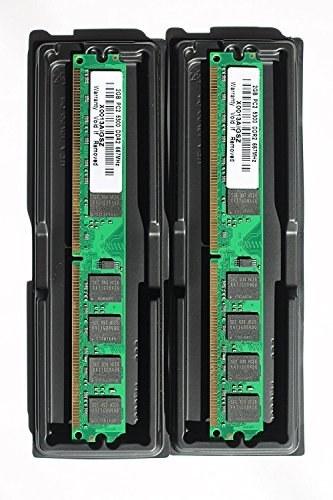 8GB (2x4GB) DDR2 PC2-5300 Desktop Memory Module (240-pin DIMM, 667MHz)