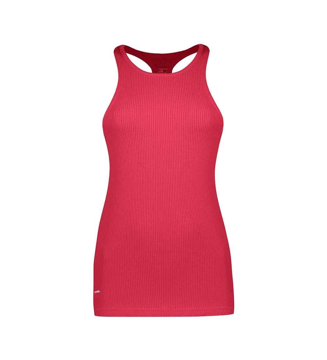 تصویر تاپ ورزشی زنانه رنگ سرخابی کد 4059پانیل Panil Top For Women