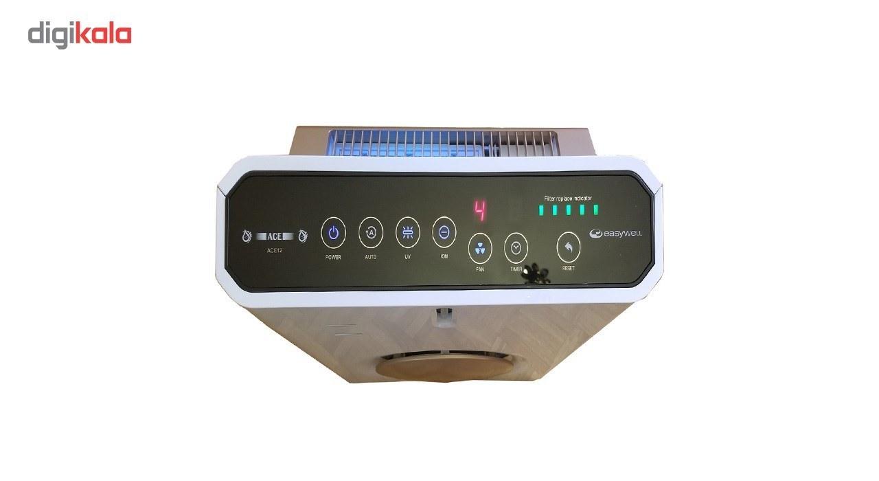 img دستگاه تصفیه هوا ایزی ول مدل ACE 12 Easy Well  Air Purifier ACE12