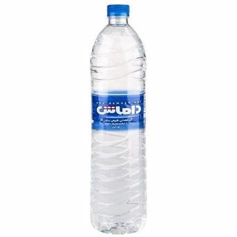 تصویر آب معدنی 1/5 لیتری داماش