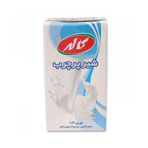 شیر پرچرب ۱۲۵سی سی کاله
