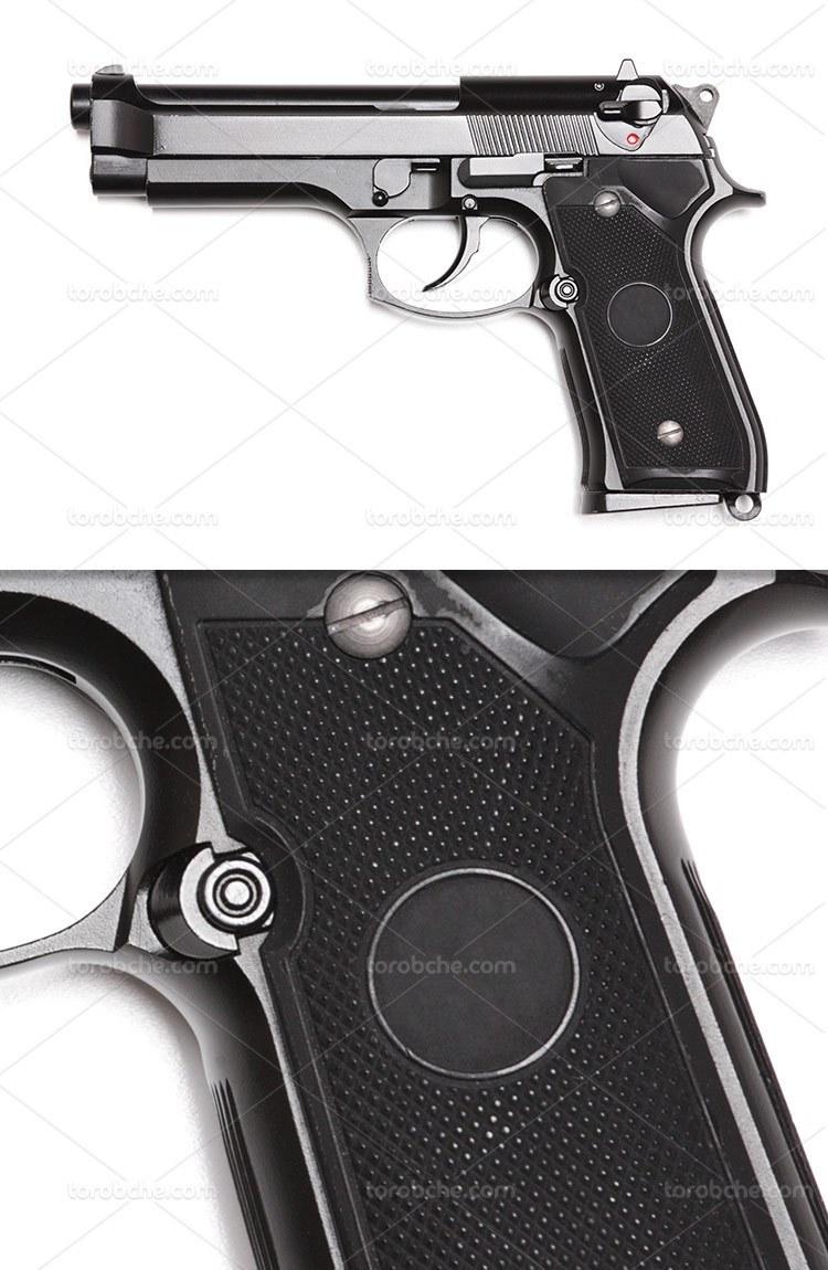 عکس اسلحه کلت با کیفیت