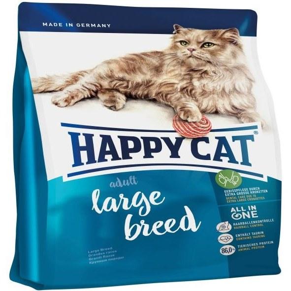 غذای خشک گربه هپی کت مدل large breed کد 120 وزن 10 کیلوگرم |