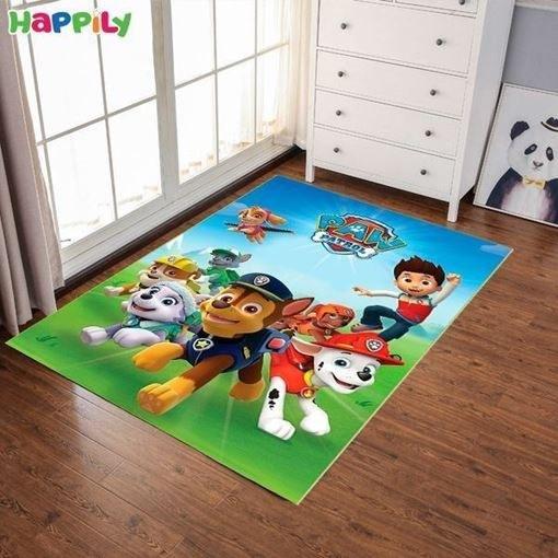تصویر فرش اتاق کودک طرح سگ های نگهبان 51201