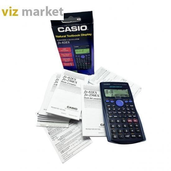 تصویر ماشینن حساب مهندسی FX-82ES کاسیو Casio FX-82ES calculator