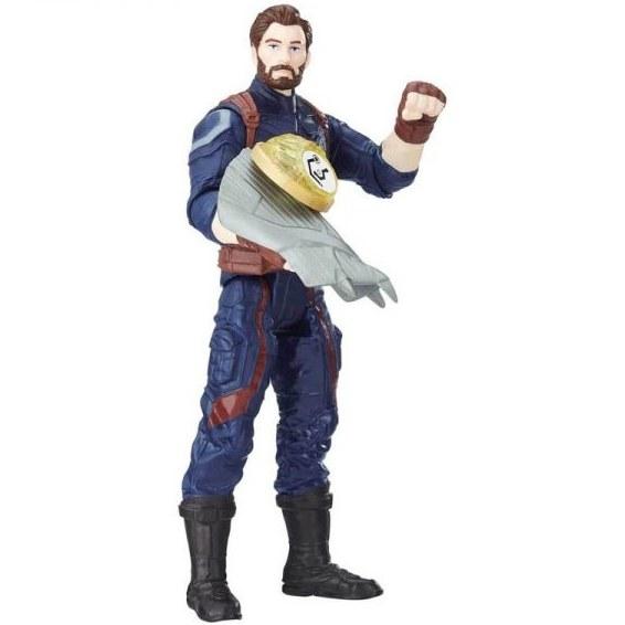 اکشن فیگور اونجرز مدل کاپیتان آمریکا Avengers Infinity War Figure and Infinity Stone – Capitan America |