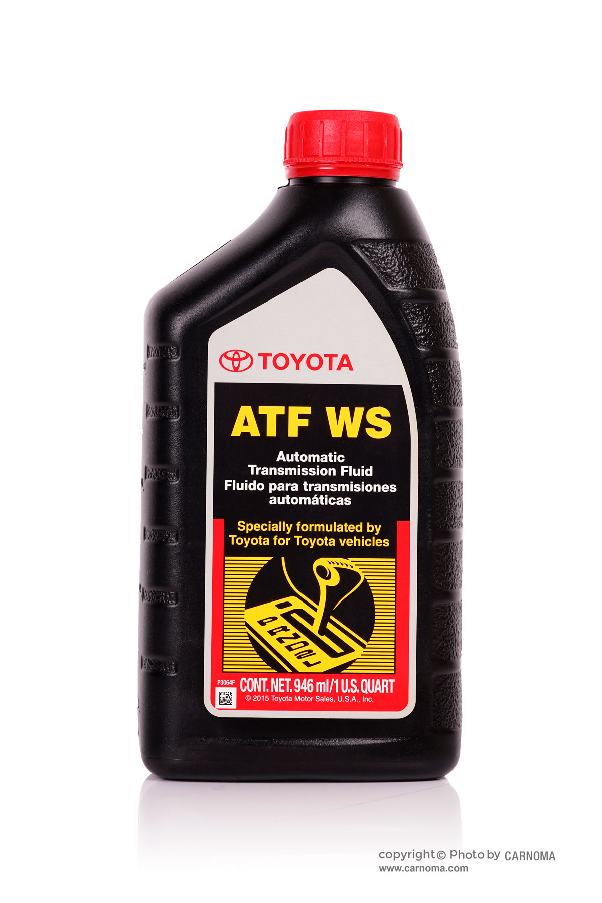تصویر روغن گیربکس تویوتا ATF WS حجم یک لیتر Toyota ATF WS Genuine Part 1Lit