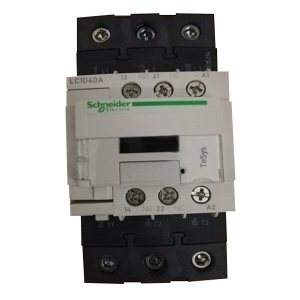 تصویر کنتاکتور اشنایدر الکتریک مدل LC1D40A  ظرفیت ۴۰ آمپر
