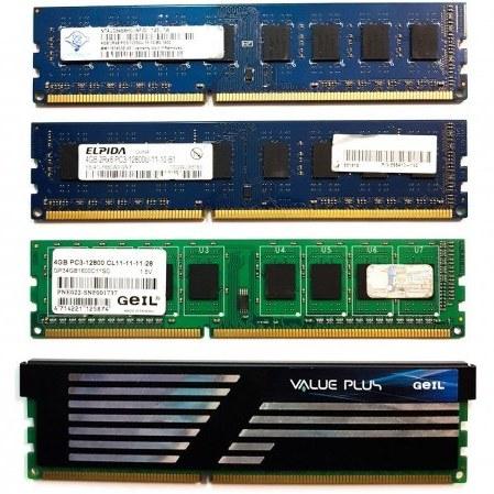 تصویر رم کامپیوتر DDR3 ظرفیت 4 گیگابایت 1600 مگاهرتز mix