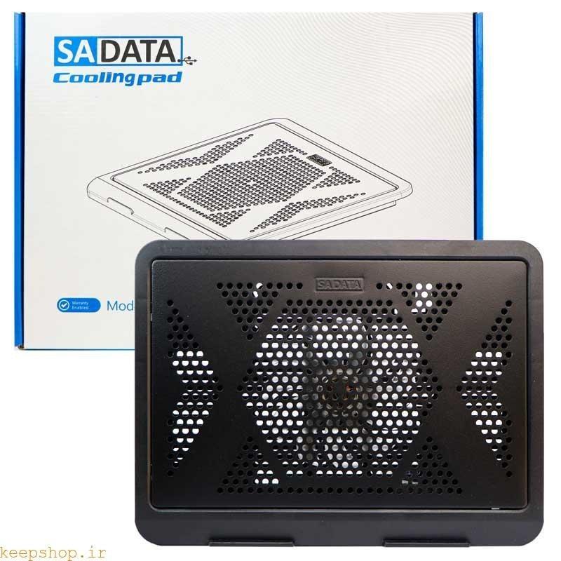 تصویر پایه خنک کننده سادیتا مدل SCP-S1 کول پد یا پایه خنک کننده لپ تاپ، بهترین وسیله برای حفاظت از رایانه قابل حمل در برابر گرم شدن است.