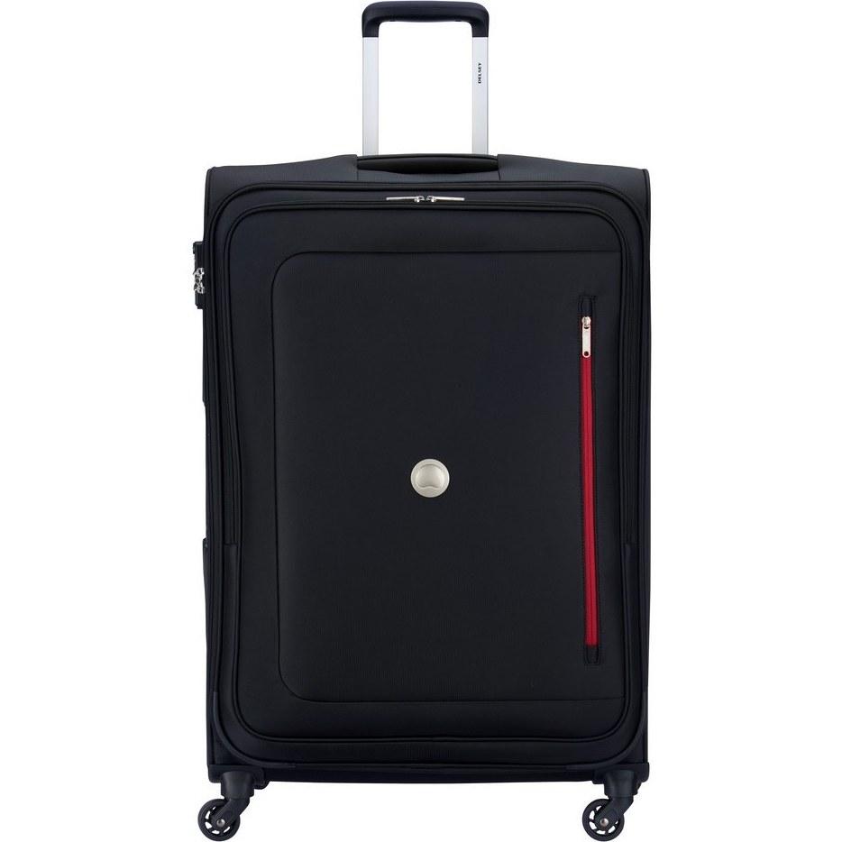 عکس چمدان دلسی مدل اورال 78 سانتی متر ارتفاع ، چهار چرخ و دارای قفل TSA چمدان-دلسی-مدل-اورال