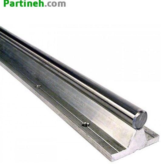 تصویر شفت پایه دار (شفت راهنما) مدل SBC برند باهر (BAHER) ساخت چین قطر 20mm