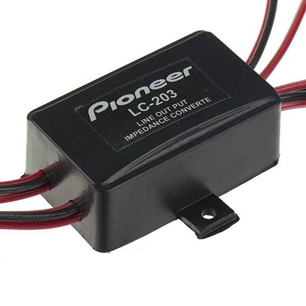 تصویر مبدل سیم بلندگو به آر سی ای پایونیر مدل LC-203 pioneer LC-203 Speaker converter