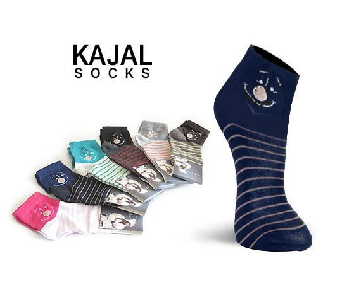 جوراب زنانه و دخترانه kajal socks
