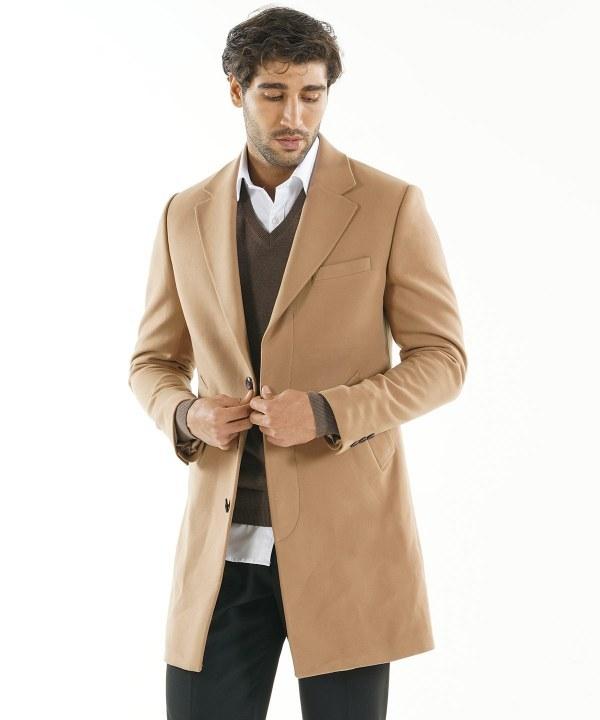 تصویر پالتو بلند مردانه برندس Brands کد br99B73