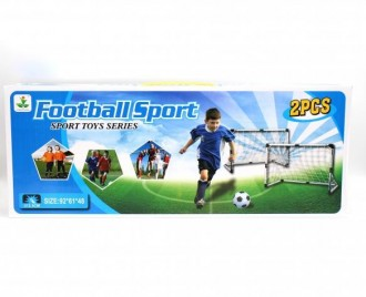 ست دروازه فوتبال 2 تایی کد 800230 (ANJ)  