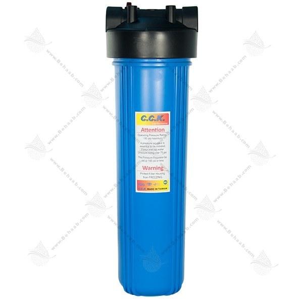 تصویر هوزینگ 20 اینچ جامبو ورودی 1 اینچ سی سی کا Water Filter Housing 20 inch Jumbo with 1 inch input CCK