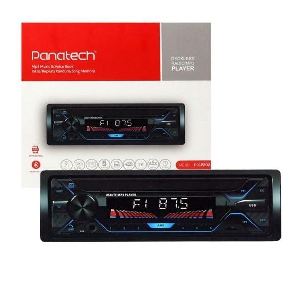 تصویر پخش کننده خودرو پاناتک Panatech P-CP202 Panatech P-CP202 Car Audio Stereo Player