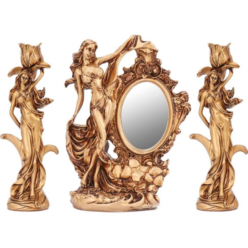آینه و شمعدان مدل فرشته |