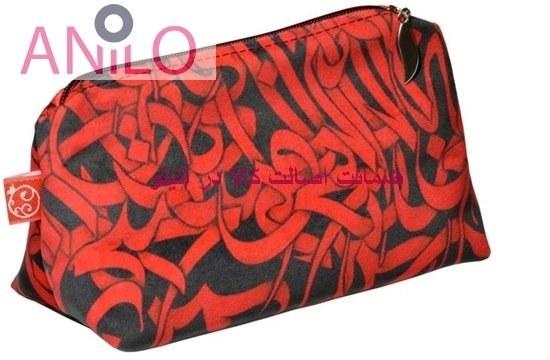 کیف لوازم آرایش چاپ انار کد B018
