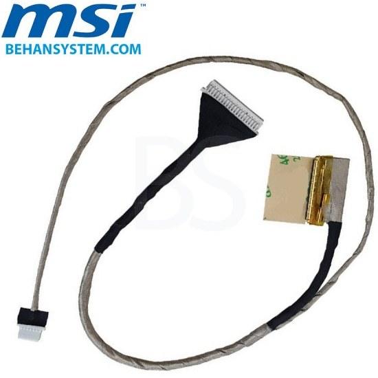 تصویر کابل فلت تصویر لپ تاپ MSI مدل GT60