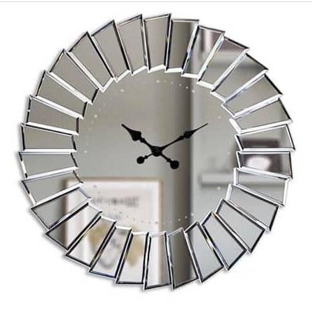 ساعت دیواری آیینه ای مدرن کد 13009/90 |