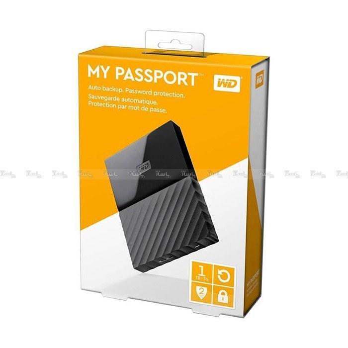 تصویر هارددیسک اکسترنال وسترن دیجیتال مدل My Passport Ultra WDBTLG0010B ظرفیت ۱ ترابایت
