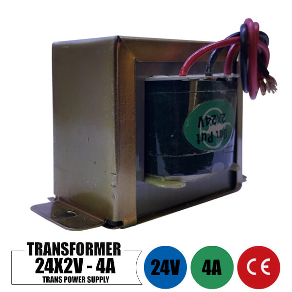 تصویر ترانس 24 ولت 4 آمپر دوبل خروجی ا Transformer 24 Volt Ac 4 Amp Transformer 24 Volt Ac 4 Amp