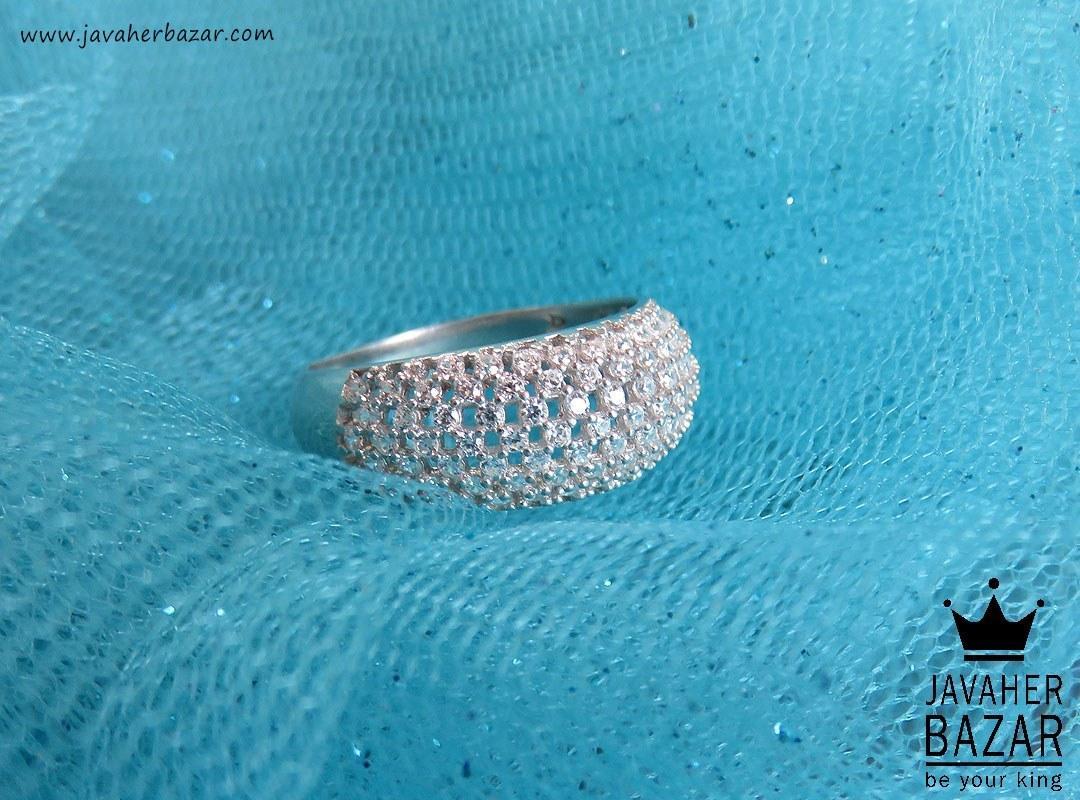 انگشتر نقره شیک زنانه - کد 43888